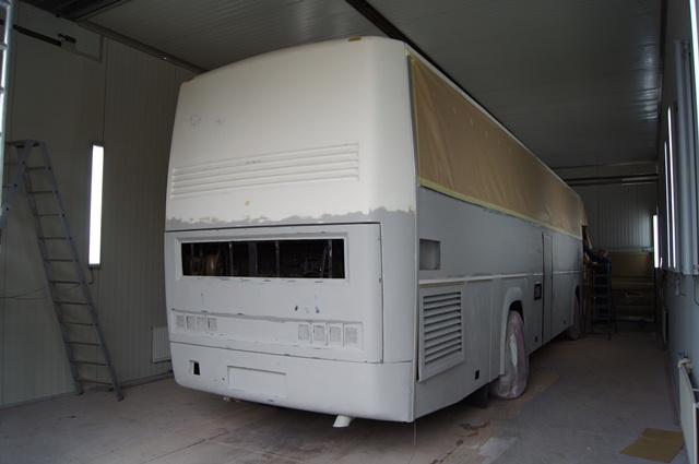 Restauratie bus 36. Foto 2